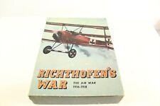 Vintage 1972 Richthofen's War Board Game The Air War 1916 - 1918