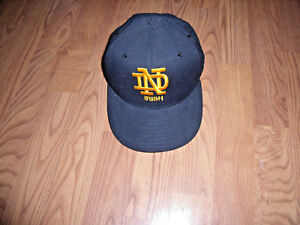 NEW ERA 59FIFTY 5950 Notre Dame Fighting Irish Fitted Cap Hat 6 3/4