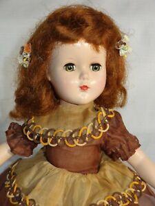 1950s R&B Hard Plastic Doll Arranbee ~ NANETTE ~