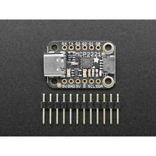 Adafruit Module MCP2221A - USB-C vers GPIO ADC I2C - Stemma QT / Qwiic
