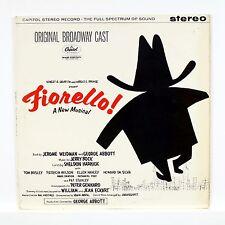 """FIORELLO!"" Original Broadway Musical Cast 12"" CAPITOL SW-1321 [Stereo LP]"