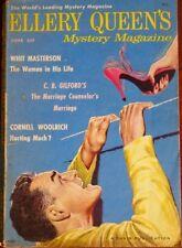 ELLERY QUEEN MYSTERY MAGAZINE 1958 JUNE