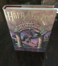Harry Potter and The Sorcerer's Stone by J.K. Rowling. 1998. 1st ed/6th ptg.