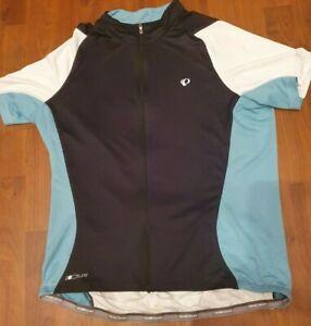 PEARL IZUMI Men's Elite Black/Blue/White Semiform Fit Jersey - XXL RRP £60