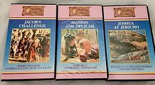Guiding Image VHS Samson Delilah Joshua Jericho Jacob LOT 3 Bible Stories Family