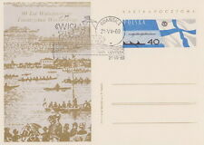 Poland postmark GDANSK - Vistula Express Goczalkowice Warsaw sail boat