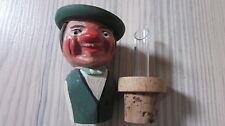 ‹(•¿•)› ❀ Rarität ❀ alte Schnapsnase ❀ Ausgießer ❀ Holz Figur ❀ Pourer
