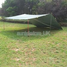 3-4 Person Waterproof Camping Tent Tarp Canopy Tarpaulin Groundsheet Shelter