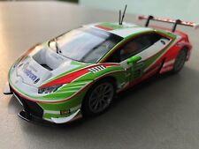 """Carrera Digital 132 30781 LAMBORGHINI HURACAN GT3 """" ITALIA """" CORPO + TELAIO"""