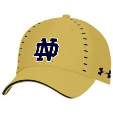 Notre Dame Irish Ncaa Men's Under Armour Blitzing Stretch Fit Hat, M/L, Nwt