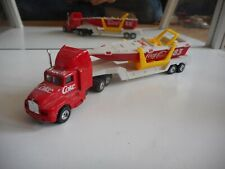 "Edocar US Truck + Trailer + Speedbaot ""Coca Cola"" in Red/White"