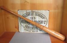 """Vintage Hillerich & Bradsby Wood Big Leaguer Baseball Bat 34"""" Garry Maddox Model"""
