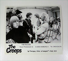 THE CREEPS (FAB) 80s GARAGE Revival swe PRESSE Foto Photo PICTURE Promo Set-Card