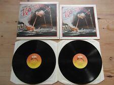 JEFF WAYNE'S WAR OF THE WORLDS - GREAT AUDIO-BOOKLET-EX DOUBLE ALBUM 1978