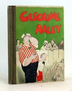 Gasoline Alley 1929 Cartoon Comic Strips Platinum Comic Frank King Hardcover