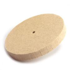 "4//6//8/"" Polishing Buffing Grinding Wheel Wool Felt Polisher Disc 25MM Thickness"