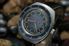 Vintage OPERA Aquadive 25j Stainless Steel 20ATM 38mm Colorful Divers Watch DK91