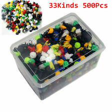 500x Mixed Fasteners Car Clips Door Trim Panel Bumper Rivet Retainer Engine Kit