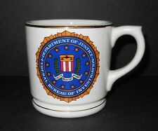 FBI Department of Justice Federal Bureau of Investigation Mug Coffee Cup