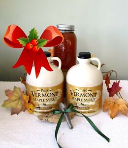 -1 GL VERMONT Maple Syrup~SWEET CHRISTMAS GIFT~Ships Free to Your Special Ones!