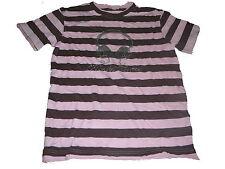 Bon`A Parte tolles T-Shirt Gr. 146 / 152 rosa-braun gestreift !!