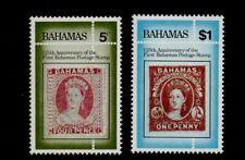 BAHAMAS. ANNIVERSARY OF BAHAMAS FIRST STAMP 1984 MNH