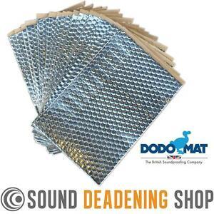 Sound Deadening Dodo Dead Mat Hex ? 20 Sheets 20sq.ft Car Vibration Proofing