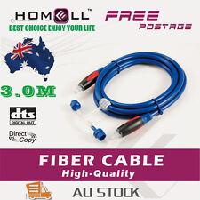 Y-OF20-3M Toslink Optical Fiber Digital Audio Cable+2 pcs Adaptors
