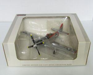 Spec Cast ~ North American P-51D Mustang ~ Die Cast Metal Bank