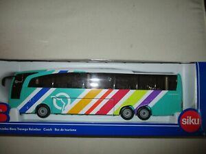 Miniature 3738 F Ratp Mercedes Benz Travego Bus Touring SIKU 1/50