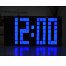 Led Digital Alarm Clock Bedroom Snooze Watch Big Digits Wall Clock Table Timer