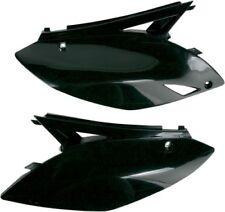 UFO Plastics Side Panels Black Kawasaki KX450F 09-11 Replacement KA04700-001