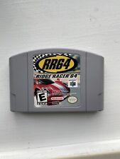 Ridge Racer 64 (Nintendo 64, 2000) With Original Box