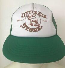 Little Elk Store Eddyville Oregon Trucker Snapback Hat Green