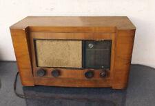 Old French Tube Radio Broadcasting 1939 Fabrication Grammont Mod.116