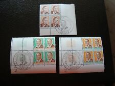 COTE D IVOIRE - timbre yvert et tellier n ° 371 376 377 x4 n** ou obl (Z3) stamp