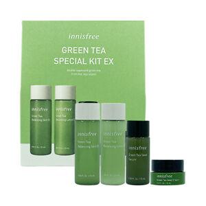 [INNISFREE_SP] Green Tea Special Kit EX 1Pack (4items) / Korea Cosmetic
