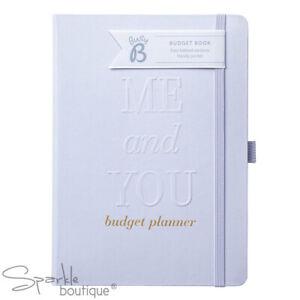 WEDDING BUDGET PLANNER - Hardback Notebook / Planning Book / Organiser / Tracker