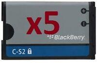5 X C-S2 CS2 BATTERY for BlackBerry CURVE 3G 9300 9330 Curve 8520 8530