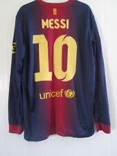 Barcelona 2012-2013 Home Messi  LS Football Shirt Adult Size Medium /43923