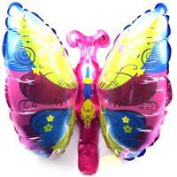 R15f11 Not Helium Balloon Baby Farfalla Nascita Palloncini Foglio Decorazione