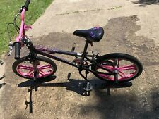 "20"" Mongoose Girls Fling BMX bike Pink With Mag Wheels"