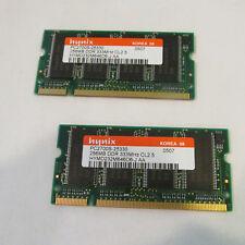 2 Hynix Lot 2x 256MB DDR 333MHz CL2.5 PC2700S-25330 nice