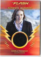 Cryptozoic Flash Season 1 Wardrobe Costume Relic Card Caitlin Snow M03 Black Var