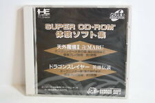 NEW Tengai Makyo II 2 Dragon Slayer Demo PC Engine Super CD-ROM 2 PCE JPN Import