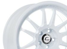 Cosmis Racing XT206R 18x9 +33 5x114.3 White Non Staggered Squared (Set of 4)