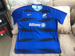 Nike Saracens Rugby Union Training T-Shirt 2015-16 Size 3XL In Great Condition