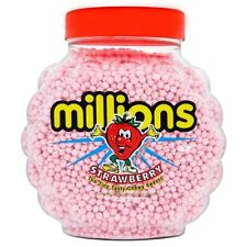 300g Strawberry Pink Millions Sweets Wholesale Treats Party Candy Cone Bags Gift