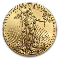 2015 1/2 oz Gold American Eagle Brilliant Uncirculated - SKU #84884