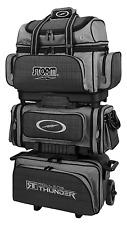 Storm Rolling Thunder Black/Charcoal/Plaid 6 Ball Roller Bowling Bag